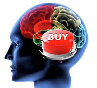 """Das Ziel des Neuromarketing ist es, den """"Kaufknopf"""" im Gehirn des Kunden direkt zu erreichen."""