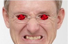 Augen-Tinnitus-Pupille