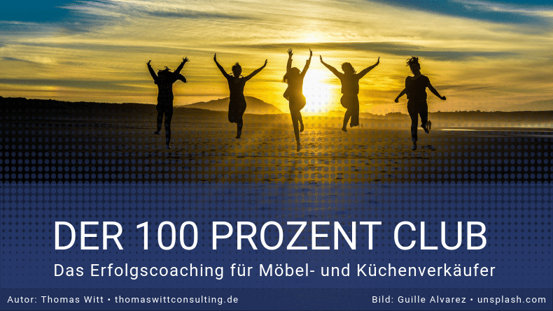 100 Prozent Club 100PC Thomas Witt Möbelverkäufer