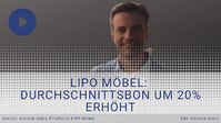 LIPO Möbel: Kaufquote gesteigert und Durchschnittsbon um 20% erhöht