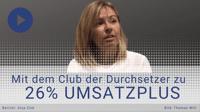 [VIDEO] Mit System zu 26% Umsatzplus - eine Abteilungsleiterin berichtet