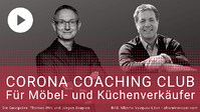 Noch Plätze frei: Möbelverkäufer-Coaching Club - in der Krise kostenlos!