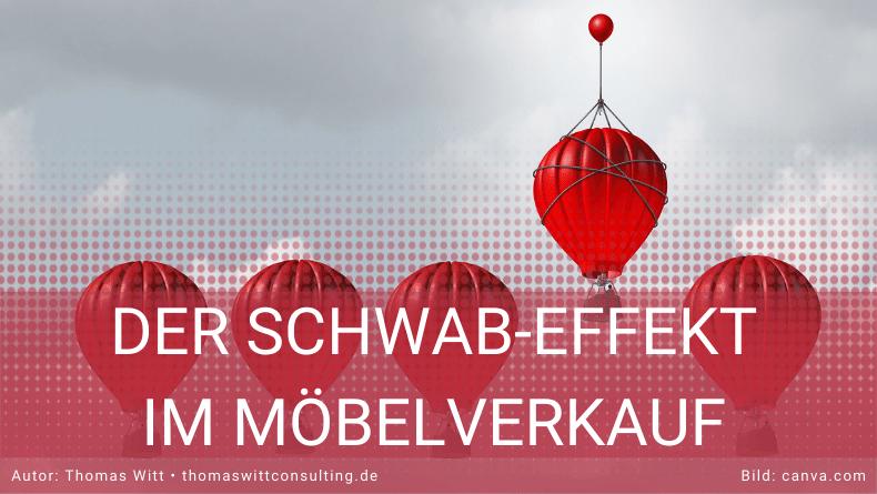 Der Schwab-Effekt - im Möbelverkauf