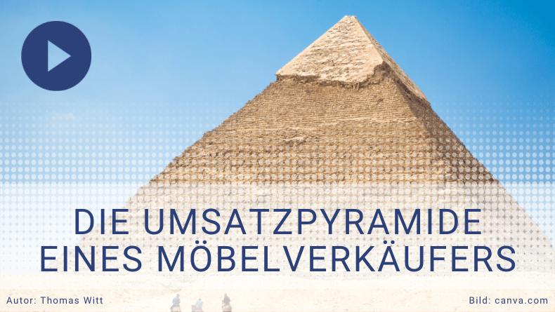 Die Umsatzpyramide im Möbelverkauf - Möbelverkäufer trainieren - Thomas Witt