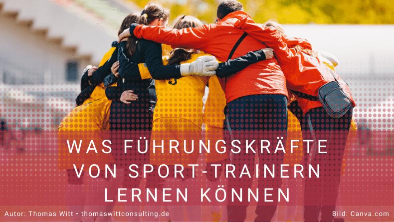 Führungskräfte - Sporttrainer