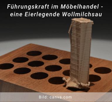 Führungskraft im Möbelhandel - eierlegende Wollmilchsau - Thomas Witt - Führungstrainings