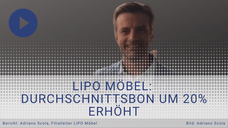 Adriano S. - Filialleiter LIPO-Möbel - Durchsetzungsprogramm Testimonial - Thomas witt