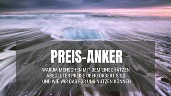 Preis-Anker - Thomas Witt Verkaufstechniken Verkaufspsychologie Training Möbelhandel