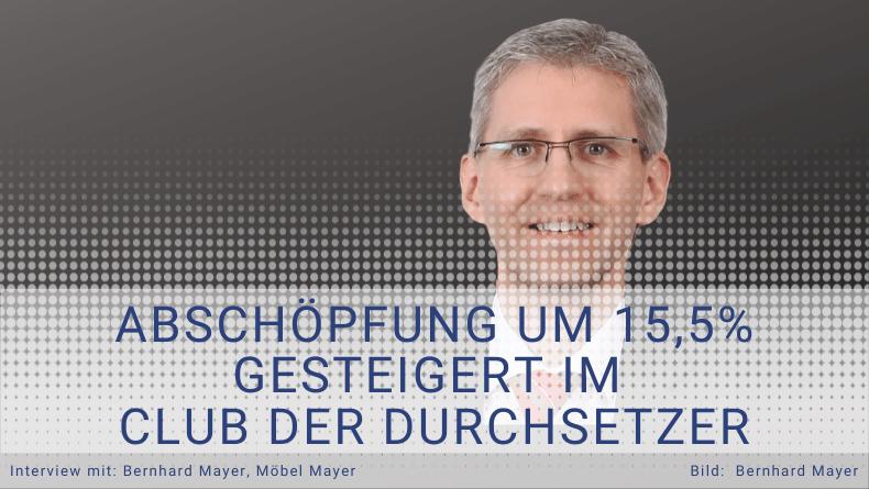 Referenz Möbel Mayer - Club der Durchsetzer -  Thomas Witt