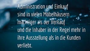 Thomas Witt Möbelhändler Administration und Einkauf