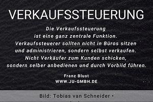 Zitat_ Franz Blust - Verkaufssteuerung Möbelverkauf - Thomas Witt