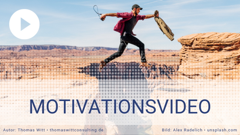 Motivationsfilm - Was Du mit deinem Tag machst (1)