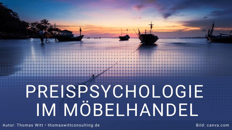 Preisanker im Möbelverkauf- Preispsychologie - Thomas Witt