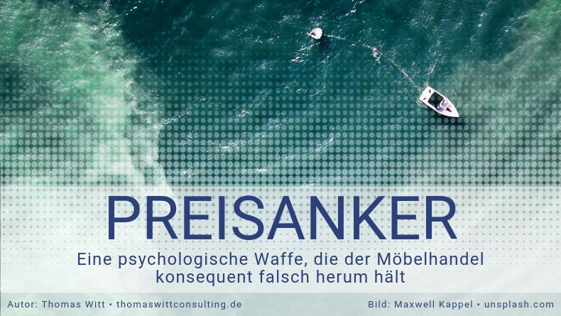 Preisanker-Ankerpreise-Preispsychologie Möbelhandel Thomas Witt