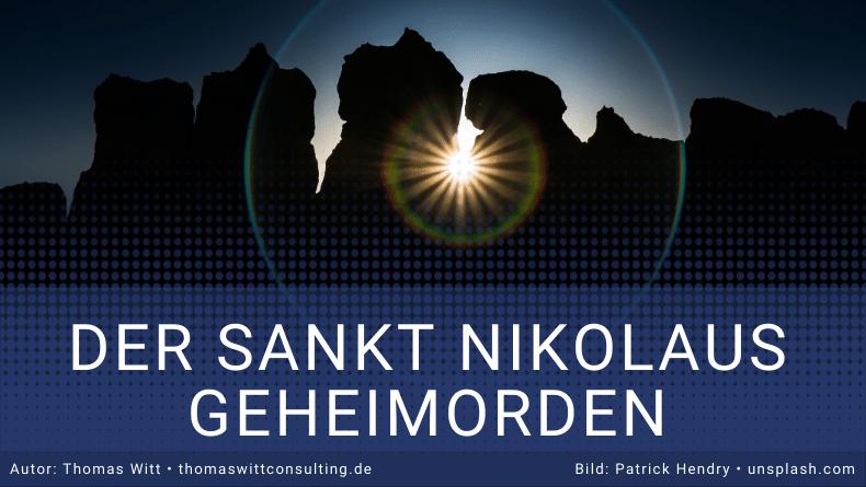 Sankt Nikolaus Ordern für Möbelverkäufer - Thomas Witt