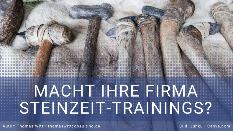 Steinzeittrainings - Thomas Witt