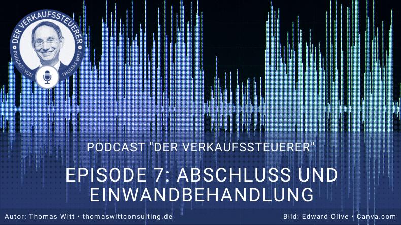 Verkaufssteuerer Podcast Ep7- Abschlusstechniken für Möbelverkäufer