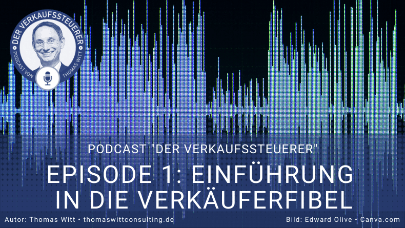 Verkaufssteuerer-Podcast - Blog Grafik