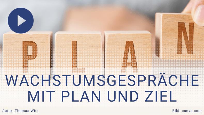 Wachstumsgespräche Möbelverkäufer mit Plan und Ziel trainieren - Thomas Witt