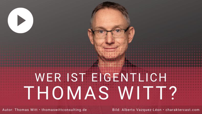 Wer ist Thomas Witt - Verkaufstrainer Möbelhandel