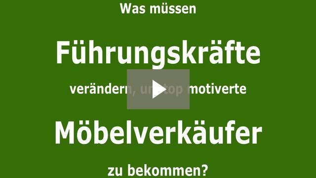 [VIDEO] Management by Seemöve - Menschenführung im Möbelhandel