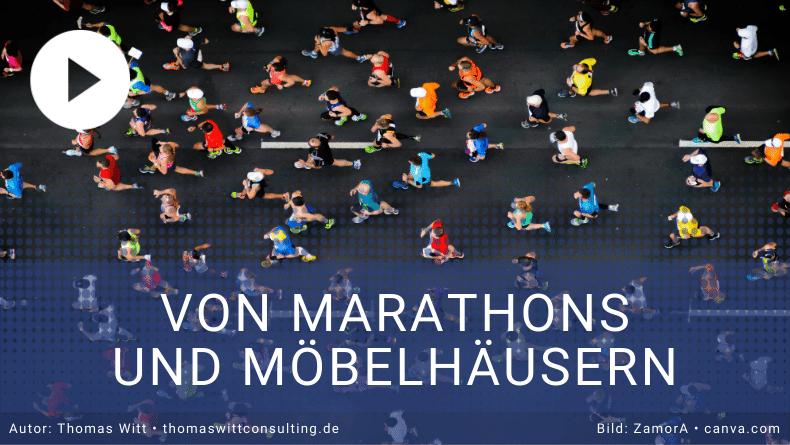 Marathonlaufen und Möbelhäuser optimieren - was haben diese Ziele gemeinsam?