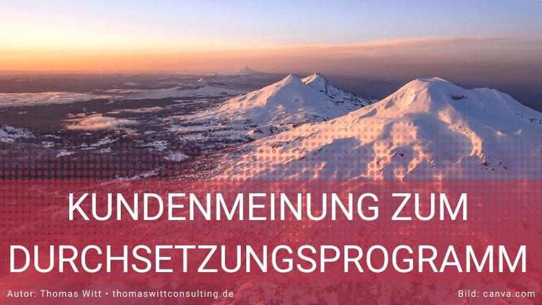 Möbel Sonneborn - Referenz über das Durchsetzungsprogramm
