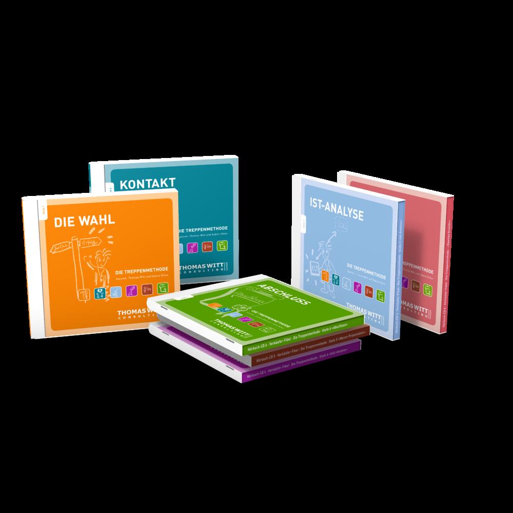 Hörbücher kostenlos zum Download: Die Treppenmethode für den Möbelhandel