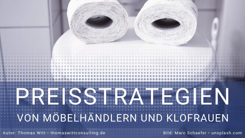 Neuromarketing im Möbelhandel - von Preisstrategien und Klofrauen